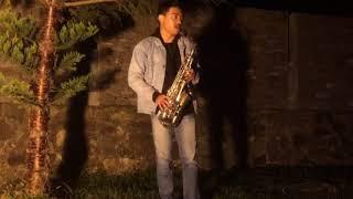 Gambar cover azmi- pernah sakit saxophone cover