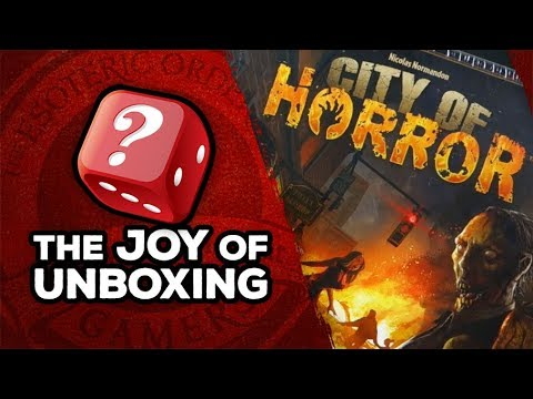 The Joy of Unboxing: City of Horror