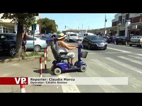 60 la sută din locurile de parcare, rezervate persoanelor cu handicap