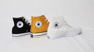 The Ultimate CONVERSE CHUCK TAYLOR Comparison & On Feet Look: OG Chucks, 70s & Chuck Taylor II