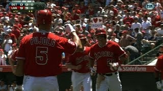 Angels' nine-run first