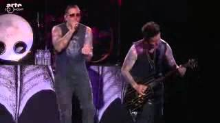 Avenged Sevenfold Hail to the King & Doing Time HELLFEST 2014  HD
