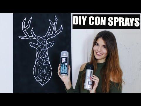 DIY: 5 MANUALIDADES CON SPRAYS #AD