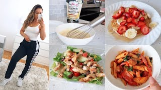 VLOG - Cook With Me & What I Eat In A Day!
