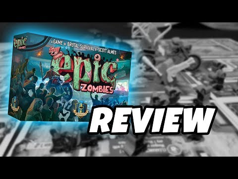 What's in the box...TINY EPIC ZOMBIES