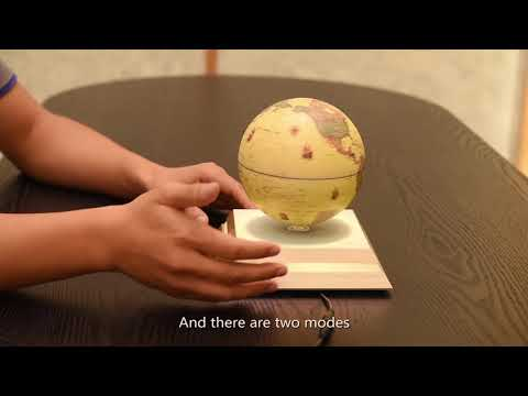 Magnetic Levitating Floating Globe with Star Constellation Map