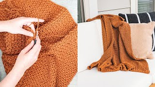 Crochet Old Fashioned Throw Blanket
