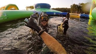 Scuba Diving at Closed Water Park for Lost Valuables! (After Hours)   DALLMYD - Video Youtube