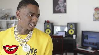 Soulja Boy shows off his EXCLUSIVE $800,000 in jewelry & watches.