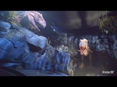 環球影城全新設施 【 侏羅紀世界 】 !全程遊玩影片
