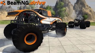 BeamNG.drive - MONSTER TRUCK TUG OF WAR