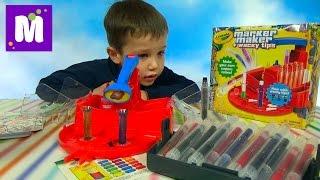 Делаем фломастеры Крайола сами распаковка набора Marker Maker Crayola DIY unboxing set