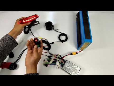 Test for Ebike Lights → Headlight, taillight, brake light
