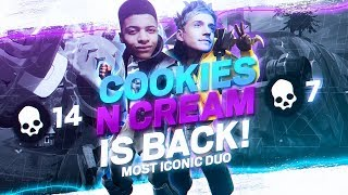 COOKIES & CREAM RETURNS! We're Still INSANE Together...  (Duos with Ninja)