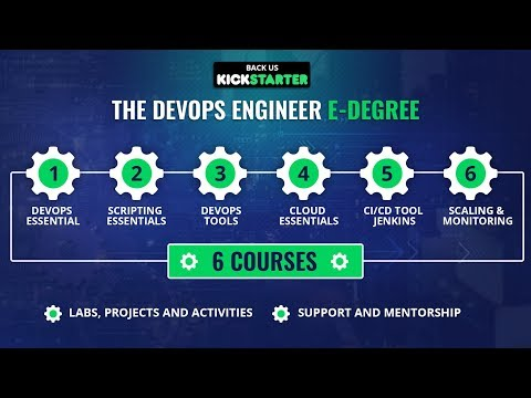 The DevOps Engineer E-Degree | Kickstarter | Upcoming Project | Eduonix