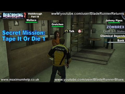 18 Secret Mission: Tape It Or Die 1! Dead Rising 2 Walkthrough PC Max Settings 1080p