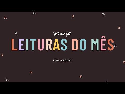 LEITURAS DO MÊS DE MARÇO