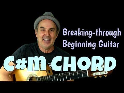 Breaking Through Series   Guitar Chord C#m