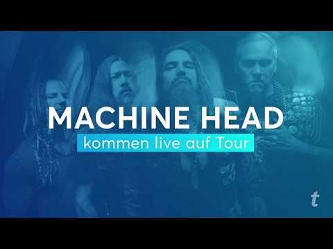 Machine Head Ticketmaster Presale am 19.09