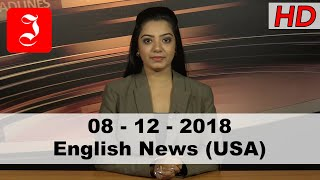 News English USA 8th Dec
