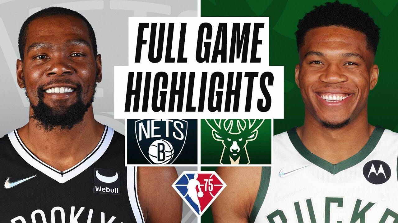 NETS at BUCKS | NBA PRESEASON FULL GAME HIGHLIGHTS | October 19, 2021