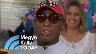 Dennis Rodman Describes The First Time He Met Kim Jong Un | Megyn Kelly TODAY