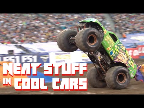 We Tried To Drive A Monster Jam Truck | Neat Stuff In Cool Cars