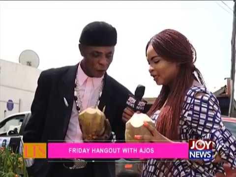 Friday Hangout with Ajos - Let's Talk Entertainment on JoyNews (18-5-18)
