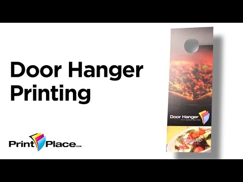 Door Hangers by PrintPlace.com