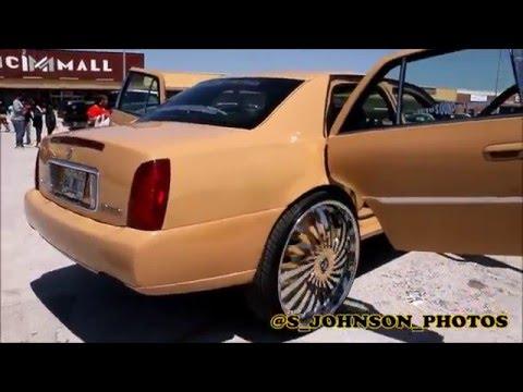Cadillac Deville on 30 inch Dub Wheels in HD