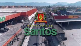 Avança a reurbanização de rua na Nova Entrada de Santos