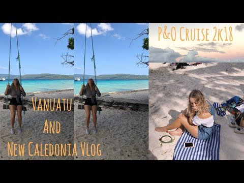 FIRST EVER VLOG!!!!  SOUTH PACIFIC P&O CRUISE