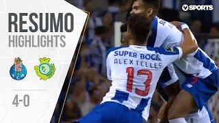 FC Porto (4)-0 Vitória FC Highlights (Portuguese League 19/20 #2)