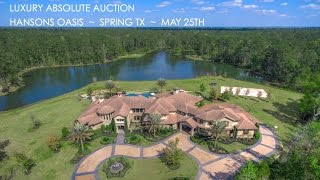 7-Acre Texas Lakefront Property For Sale In Spring TX   Estate Near Houston