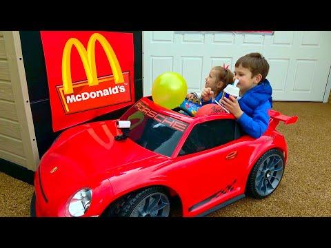 MaGiC McDonalds превратил настоящую еду в ... Мэджик МакДональдс turn real food in gummy (видео)