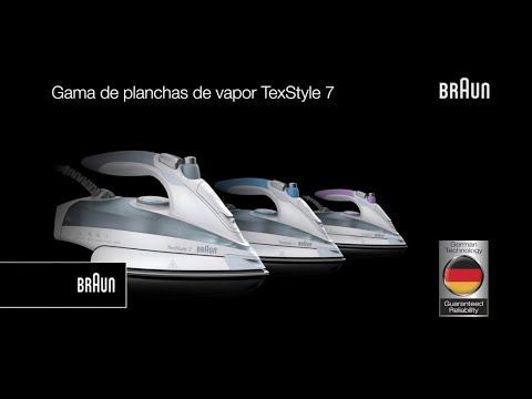 Planchas de Vapor TexStyle 7 de Braun