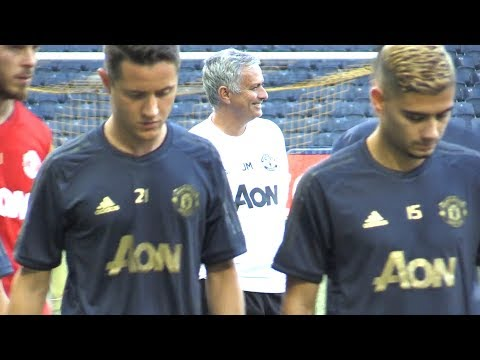 Manchester United Training Ahead Of Young Boys Champions League Match