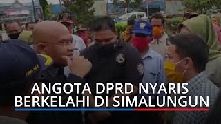Sidak Bantuan Sembako, Anggota DPRD Sumut Nyaris Berkelahi di Simalungun