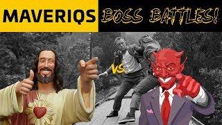 Who would make a better business partner, Jesus or The Devil? (Maveriqs Boss Battles - Episode 2)