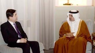 preview picture of video 'سمو ولي العهد يستقبل السفير الصيني'