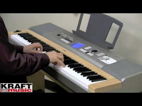 Yamaha DGX-630 Portable Grand Piano - Full Sized Keyboard Weighted Action   Bench & Three-Pedal incl