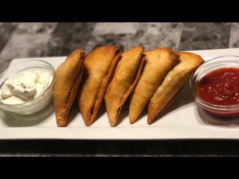 Taco Samosas | How to Make fried Tacos