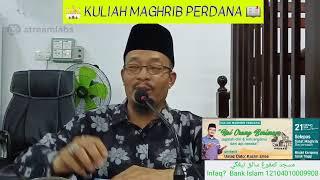 """Ust Dato' Kazim Elias: """"Hai Orang² Yang Beriman.."""" (21/2/20)"""