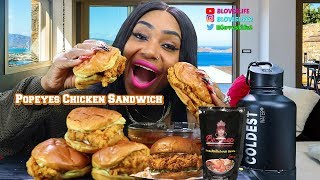 Popeyes Chicken Sandwich In Smackalicious Sauce CBS Sunday Morning Show Is Featuring Me On The 24th