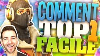🥇 COMMENT FAIRE TOP 1 FACILEMENT, VOS ERREURS #1 ► Fortnite Battle Royale FR
