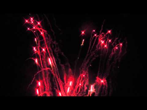 Feuerwerk Goldene Hochzeit Hotel Teikyo 14.09.13