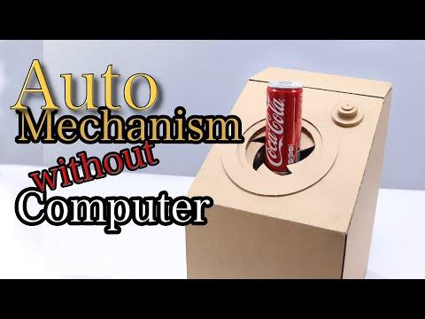 Awesome Automatic DIY Cardboard Vending Machine