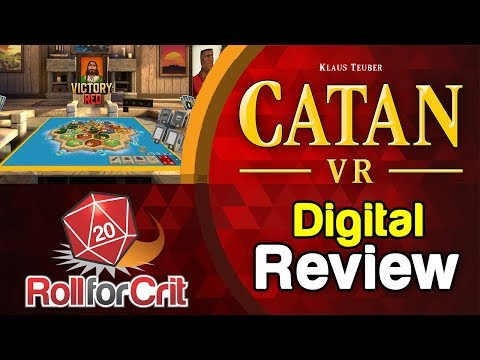 Catan VR Review | Roll For Crit
