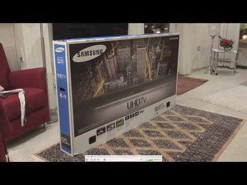 Inbetriebnahme Samsung 3D, 65 Zoll, 4K Fernsehgerät UE65JU7090  (in 4K)  von tubehorst1