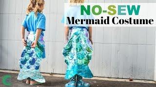 No Sew Mermaid Costume